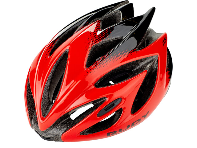 Rudy Project Rush Fietshelm, red/black shiny